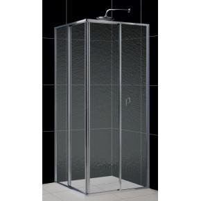 Душевой уголок RGW Classic CL-32 (765-790)x(765-790)x1850 профиль хром, стекло шиншилла 04093288-51
