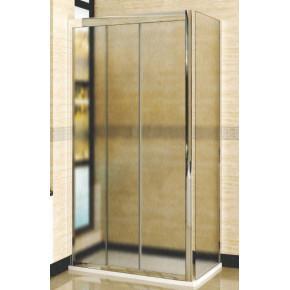 Душевой уголок RGW Classic CL-40 (1060-1110)х700 профиль хром, стекло шиншилла 04094017-51
