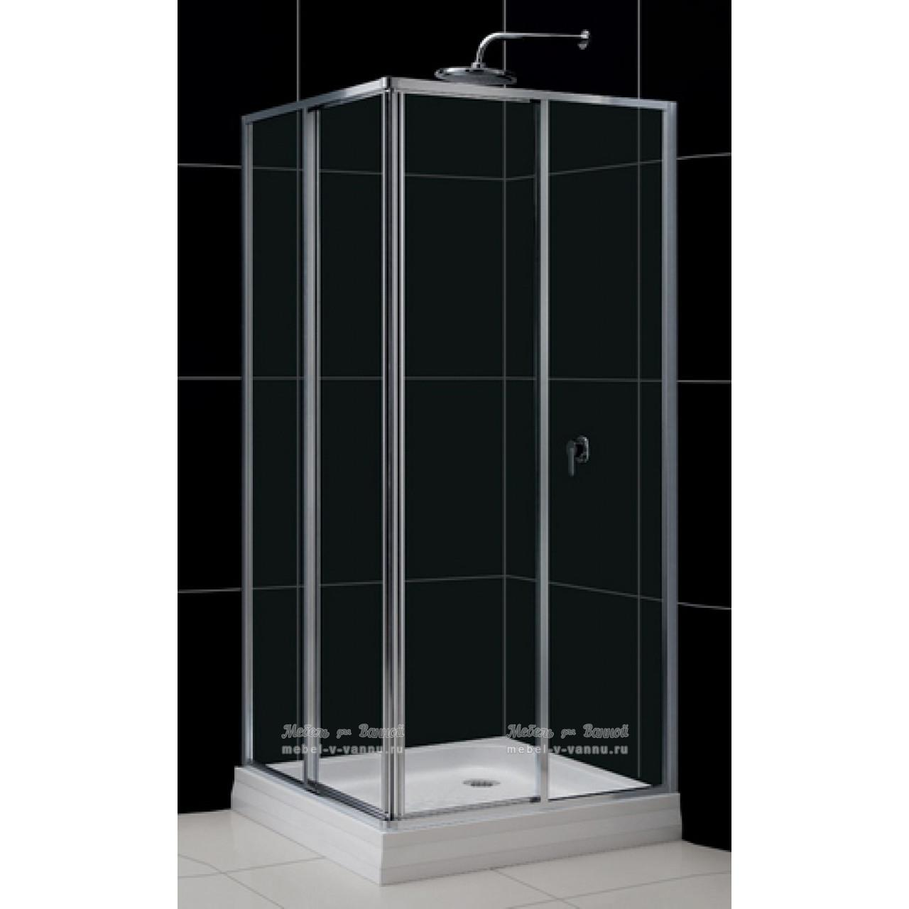 Душевой уголок RGW Classic CL-32 90x90x185 стекло прозрачное 04093299-11 купить в Москве по цене от 29296р. в интернет-магазине mebel-v-vannu.ru