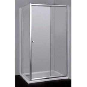 Душевой уголок RGW Classic CL-45 (1060-1110)x700x1850 профиль хром, стекло шиншилла 04094517-51