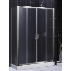 Душевой уголок RGW Passage PA-41 (1400-1420)х900 профиль хром, стекло матовое 01084194-21