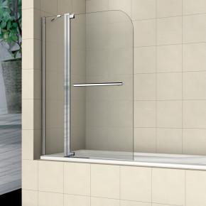 Шторка на ванну RGW Screens SC-03 1100x1500 с ручкой, стекло чистое 03110311-11