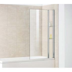 Шторка на ванну RGW Screens SC-53 800x1500 с полками, стекло чистое 03115308-11