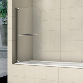 Шторка на ванну RGW Screens SC-02 800x1500 с ручкой, стекло чистое 03110208-11