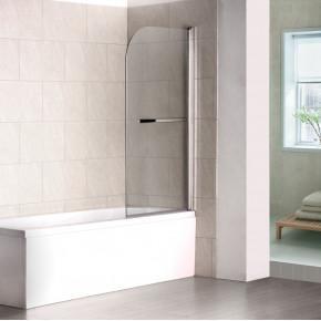 Шторка на ванну RGW Screens SC-06 800x1500 с ручкой, стекло чистое 03110608-11