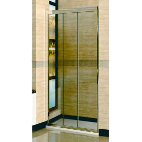 Душевая дверь в нишу RGW Classic CL-11 (860-910)x1850 профиль хром, стекло чистое 04091109-11