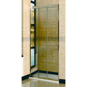 Душевая дверь в нишу RGW Classic CL-11 (760-810)х1850 профиль хром, стекло чистое 04091108-11
