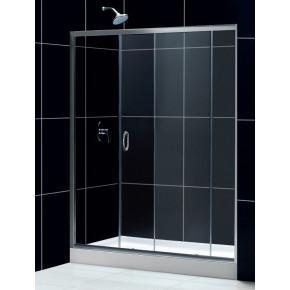 Душевая дверь в нишу RGW Passage PA-12 (1300-1340)x1950 профиль хром, стекло чистое 01081213-11