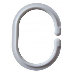 Кольца для штанги Ridder комплект 12шт белый, 49301