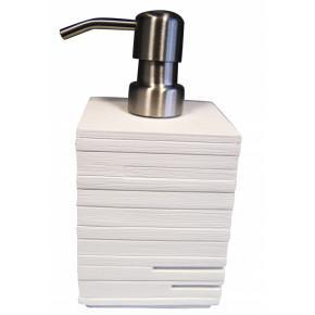 Дозатор для жидкого мыла Ridder Brick 22150501 белый