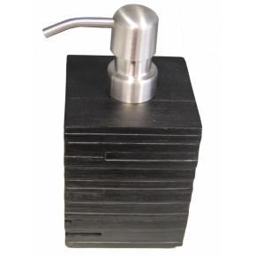 Дозатор для жидкого мыла Ridder Brick 22150510 черный