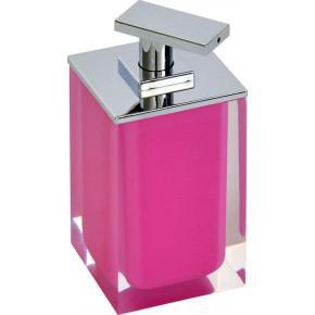 Дозатор для жидкого мыла Ridder Colours 22280502 розовый
