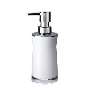 Дозатор для жидкого мыла Ridder Disco 2103501 белый