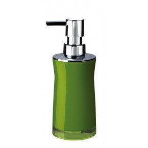 Дозатор для жидкого мыла Ridder Disco 2103505 зеленый