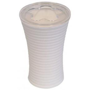 Стакан для зубных щеток Ridder Tower 22200201 белый