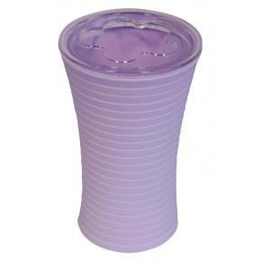 Стакан для зубных щеток Ridder Tower 22200223 фиолетовый