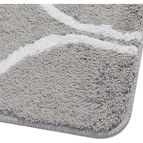 Коврик для ванной комнаты Ridder Circle 736307 серый купить в Москве по цене от 3848р. в интернет-магазине mebel-v-vannu.ru