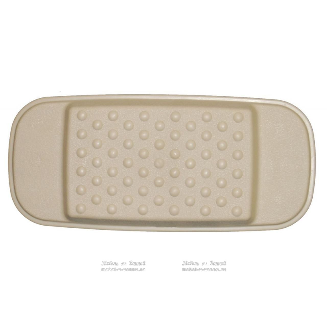 Подголовники для ванны Ridder 608609 бежевый, Aqm купить в Москве по цене от 456р. в интернет-магазине mebel-v-vannu.ru