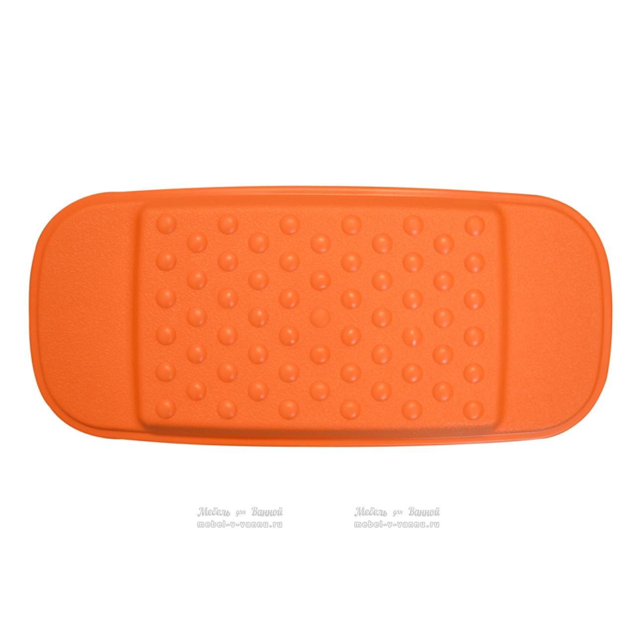 Подголовники для ванны Ridder 608614 оранжевый, Aqm купить в Москве по цене от 456р. в интернет-магазине mebel-v-vannu.ru