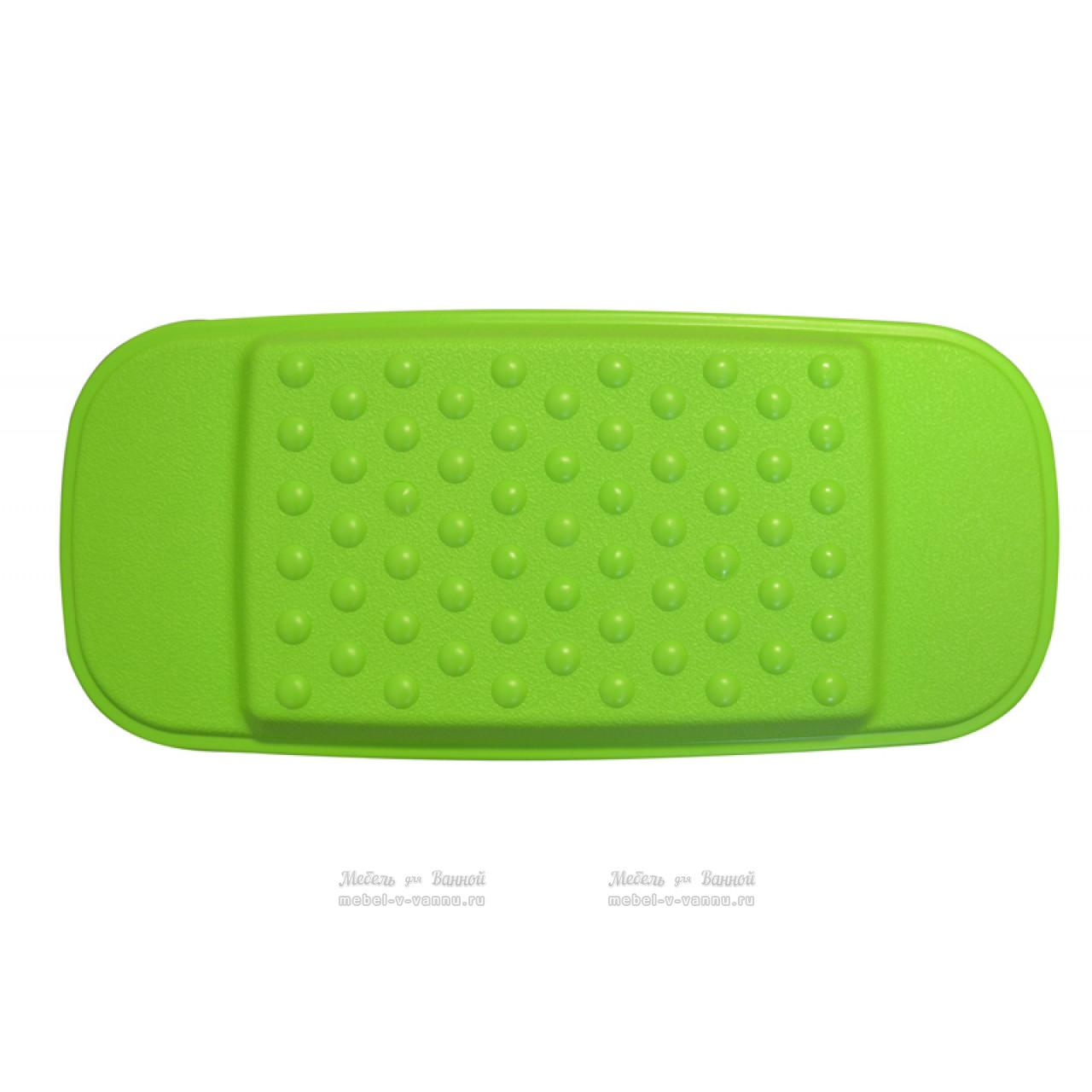 Подголовники для ванны Ridder 608635 зеленый, Aqm купить в Москве по цене от 456р. в интернет-магазине mebel-v-vannu.ru
