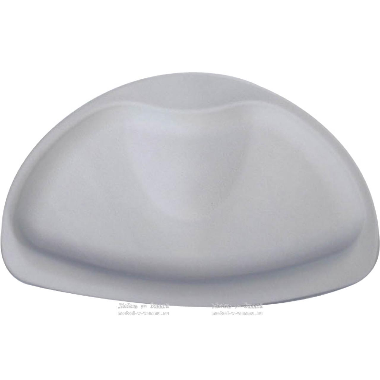 Подголовник для ванны Ridder Tecno+ А6800607 серый 20*30 купить в Москве по цене от 1079р. в интернет-магазине mebel-v-vannu.ru