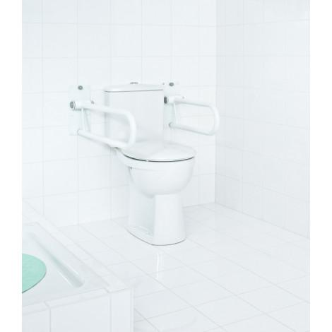 Откидной поручень для подъема Ridder А0130101 белый купить в Москве по цене от 8972р. в интернет-магазине mebel-v-vannu.ru
