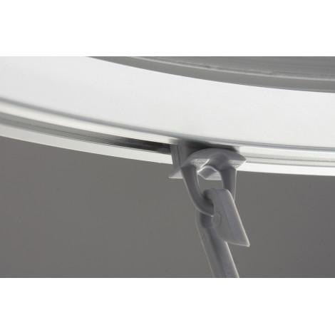 Штанга (современный дизайн) универсальная Ridder 52500 хром купить в Москве по цене от 2461р. в интернет-магазине mebel-v-vannu.ru