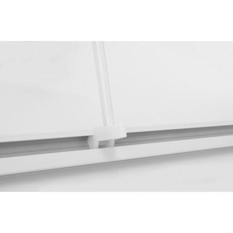 Штанга (современный дизайн) Ridder 52001 белый 90*90 см купить в Москве по цене от 2297р. в интернет-магазине mebel-v-vannu.ru