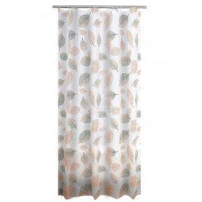 Штора для ванной комнаты Ridder Fallin оранжевый 180x200 303205