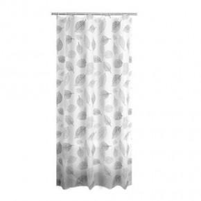 Штора для ванной комнаты Ridder Fallin серый 180x200 303207