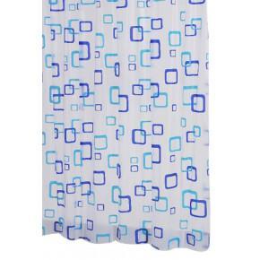 Штора для ванной комнаты Ridder Retro синий/голубой 180x200 130380 Aqm
