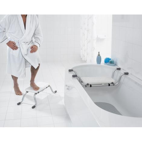 Сиденье в ванну Ridder Promo А0042001 белый купить в Москве по цене от 3681р. в интернет-магазине mebel-v-vannu.ru