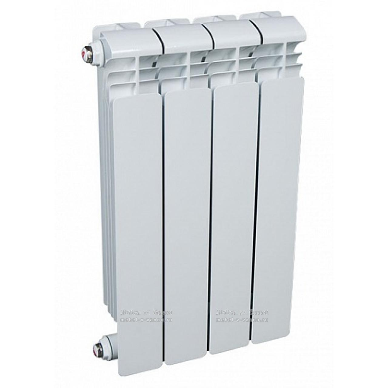 Радиатор водяной алюминиевый Rifar Alum 350 4 секции купить в Москве по цене от 2300р. в интернет-магазине mebel-v-vannu.ru