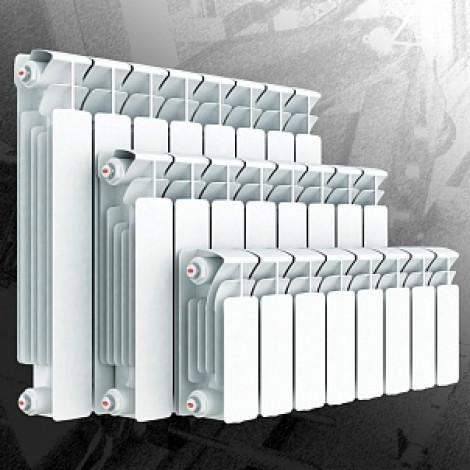 Радиатор водяной биметаллический Rifar Base 350 8 секций купить в Москве по цене от 5300р. в интернет-магазине mebel-v-vannu.ru