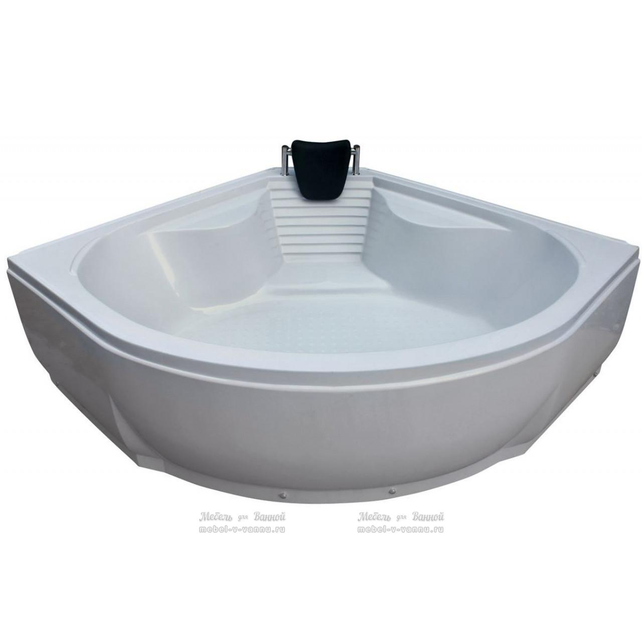 Акриловая ванна River 150/150/55 купить в Москве по цене от 15300р. в интернет-магазине mebel-v-vannu.ru