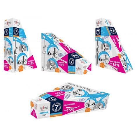 Комплект для ванной Rossinka SET35-80 купить в Москве по цене от 4801р. в интернет-магазине mebel-v-vannu.ru