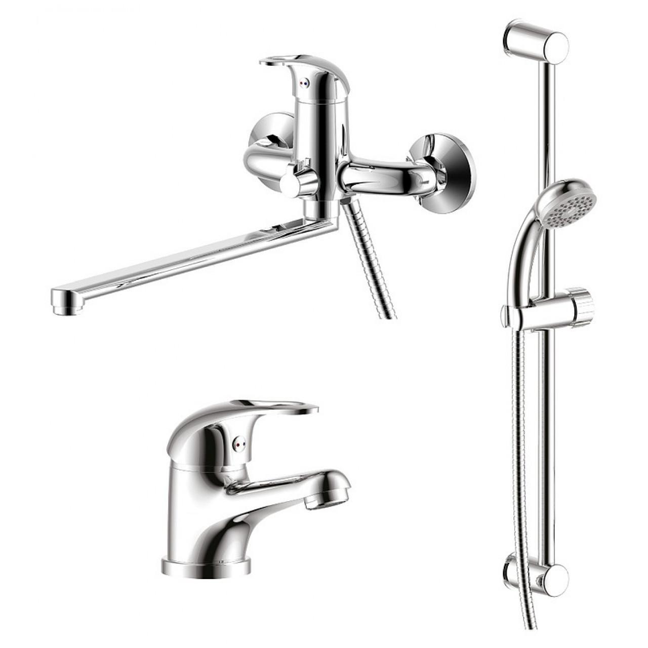 Комплект для ванной Rossinka SET35-81 купить в Москве по цене от 6040р. в интернет-магазине mebel-v-vannu.ru