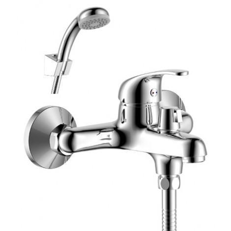 Смеситель Rossinka Y40-31 для ванны с душем купить в Москве по цене от 2894р. в интернет-магазине mebel-v-vannu.ru