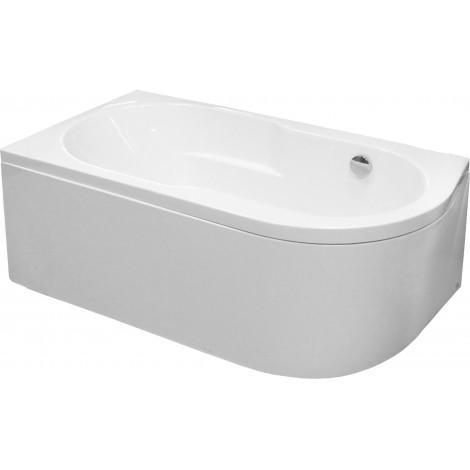 Акриловая ванна Royal Bath Azur RB 614202, лев. 160 см купить в Москве по цене от 20857р. в интернет-магазине mebel-v-vannu.ru