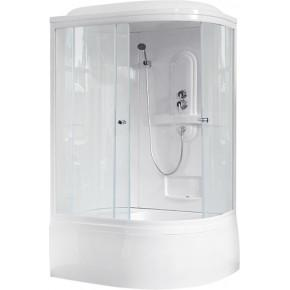 Душевая кабина Royal Bath RB 8120BK1-T, лев.