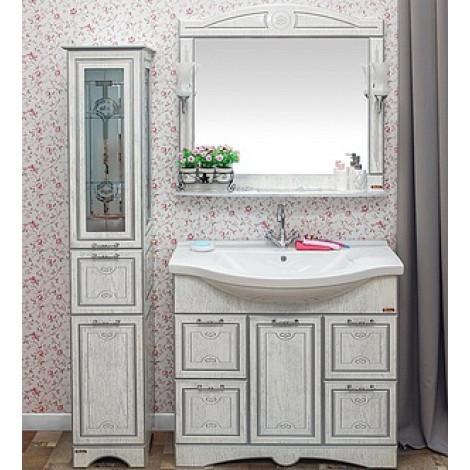 Комплект мебели Sanflor Адель 100 купить в Москве по цене от 35765р. в интернет-магазине mebel-v-vannu.ru