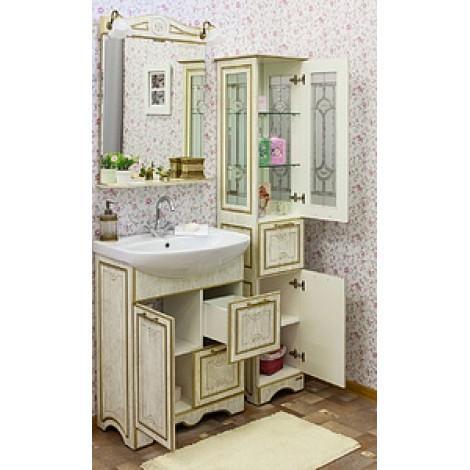 Комплект мебели Sanflor Адель 65 купить в Москве по цене от 21920р. в интернет-магазине mebel-v-vannu.ru
