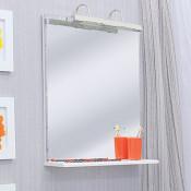 Зеркало Sanflor Бэтта Одри 70 купить в Москве по цене от 5990р. в интернет-магазине mebel-v-vannu.ru