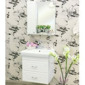 Комплект мебели Sanflor Ксения 60 купить в Москве по цене от 13897р. в интернет-магазине mebel-v-vannu.ru