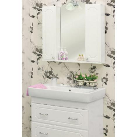 Комплект мебели Sanflor Ксения 80 напольный купить в Москве по цене от 20587р. в интернет-магазине mebel-v-vannu.ru