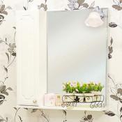 Зеркало-шкаф Sanflor Ксения 70 купить в Москве по цене от 4596р. в интернет-магазине mebel-v-vannu.ru