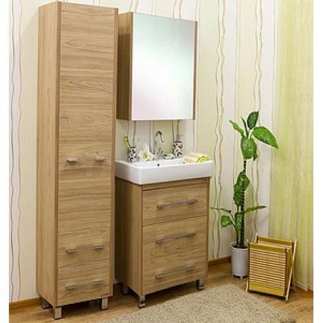 Комплект мебели Sanflor Ларго 60 купить в Москве по цене от 15150р. в интернет-магазине mebel-v-vannu.ru