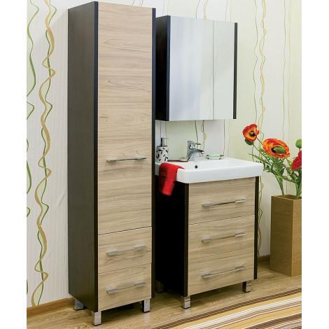 Комплект мебели Sanflor Ларго 70 купить в Москве по цене от 16160р. в интернет-магазине mebel-v-vannu.ru