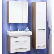 Комплект мебели Sanflor Ларго 70 белый подвесной купить в Москве по цене от 16758р. в интернет-магазине mebel-v-vannu.ru