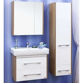 Комплект мебели Sanflor Ларго 70 белый подвесной